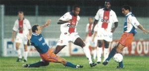 Le Panaméen Julio Dely Valdés, qui ouvrira le score pour Paris