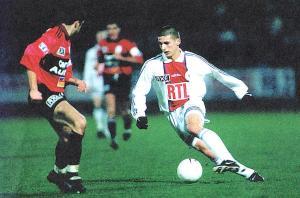 Le jeune Marko Pantelic, entré à l'heure de jeu (archives MK)