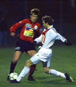 Adailton face à Le Guen (HAC Foot Archives)