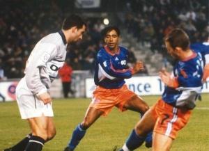 Augusto Cesar face à une vieille connaissance, Patrice Loko