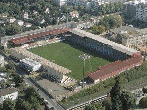 Le stade des Charmilles