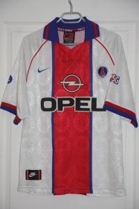 Maillot extérieur 1996-97 (collection MaillotsPSG)