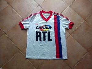 Maillot domicile matchs amicaux 1987-88