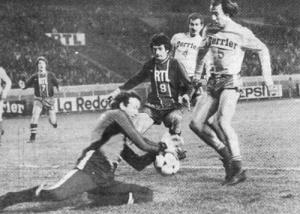 Hédoire sort devant Jean-François Beltramini (archives MK)
