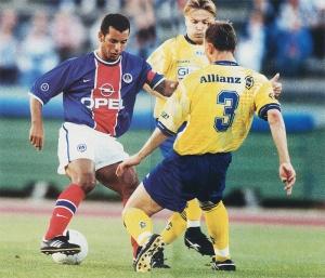 Ali Benarbia, capitaine contre les vice-champions de Tchécoslovaquie
