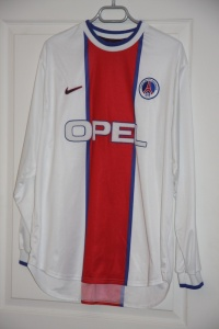 Troisième maillot 1999-2000 (collection MaillotsPSG)