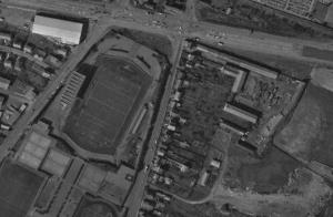 Vue aérienne du stade Paul-Rébeilleau