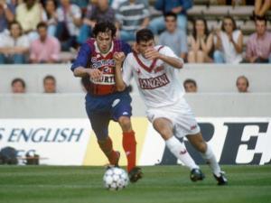 Jean-Luc Sassus à la lutte avec Zidane