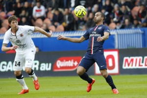 Photo Ch. Gavelle, psg.fr (image en taille et qualité d'origine: http://www.psg.fr/fr/Actus/105003/Galeries-Photos#!/fr/2014/2908/45117/match/Paris-Caen-2-2/Paris-Caen-2-2)