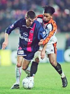 Jérôme Leroy à la lutte avec Loko (Ch. Gavelle)