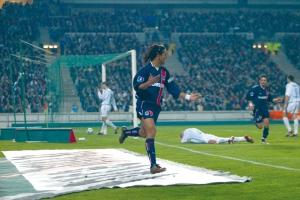 La joie de Ronaldinho