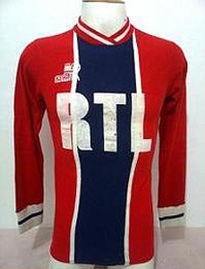 Maillot domicile alternatif 1975-76