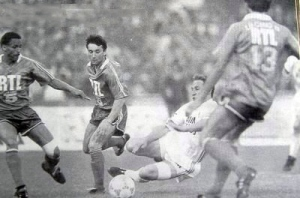 Christian Pérez face à Papin (OM4ever)