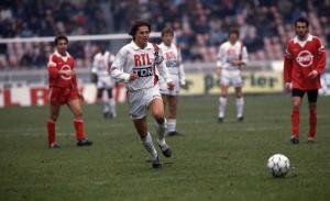 Bravo, buteur face à Brest en 1990