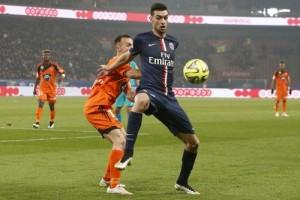 Photo Ch. Gavelle, psg.fr (image en taille et qualité d'origine: http://www.psg.fr/fr/Actus/105003/Galeries-Photos#!/fr/2014/2913/45728/match/Paris-Lorient-3-1/Paris-Lorient-3-1)