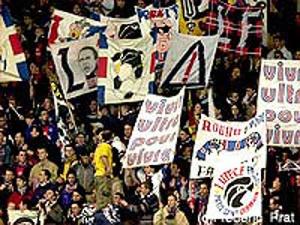 Les supporters du Virage Auteuil (F. Prat)