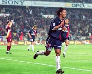 … et celle de Ronaldinho