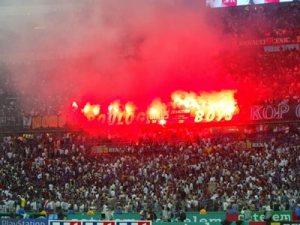 Les supporters du PSG (Ch. Gavelle)