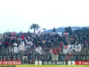 Les supporters parisiens (Ch. Gavelle)