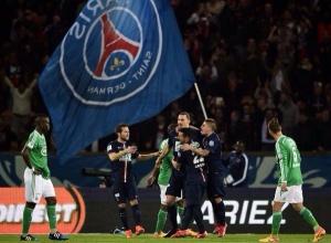 La joie d'Ibrahimovic et des ses cohéquipiers