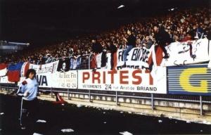 Les fans parisiens présents à Deschaseaux