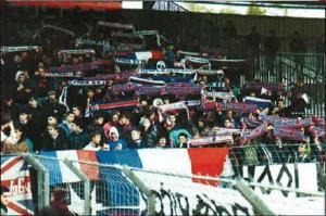 Les supporters présents dans l'Yonne