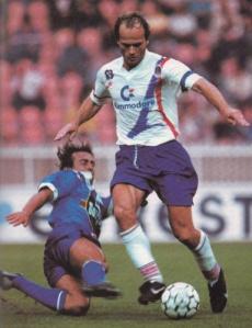 Bruno Germain balle au pied