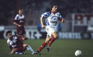 Ginola lors du carton face à Metz en 1992