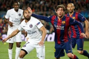 Photo Ch. Gavelle, psg.fr (image en taille et qualité d'origine: http://www.psg.fr/fr/Actus/105003/Galeries-Photos#!/fr/2014/3092/46329/match/Barcelone-Paris-2-0/Barcelone-Paris-2-0)