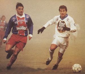 Laurent Fournier à la lutte avec Ferreri