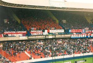 Les supporters parisiens