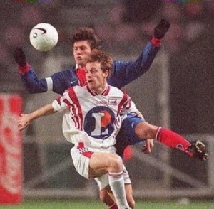 Leonardo devancé... (HAC Foot Archives)