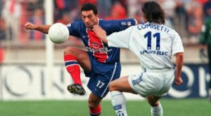 Jimmy Algérino face à Comosetti