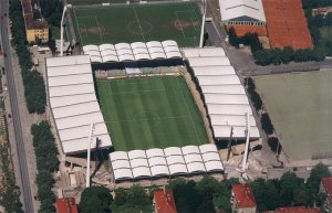Le stade Gerhard-Hanappi