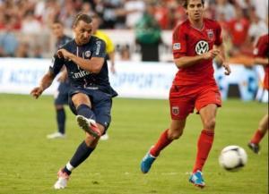 Zlatan Ibrahimovic marquera pour sa première apparition… au bout de 3 minutes de jeu!