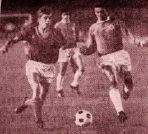 Michel Prost à la lutte avec Monin (Allez Red Star)