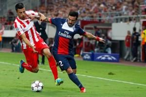 Photo Ch. Gavelle, psg.fr (image en taille et qualité d'origine: http://www.psg.fr/fr/Actus/105003/Galeries-Photos#!/fr/2013/2727/36354/match/Olympiacos-Paris-1-4/Olympiacos-Paris-1-4)