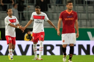 Photo psg.fr (image en taille et qualité d'origine: http://www.psg.fr/fr/Actus/105003/Galeries-Photos#!/fr/2011/2252/26846/match/AS-Rome-Innsbruck-PSG/AS-Roma-Innsbruck-PSG)