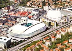 La Tele2 Arena de Stockholm