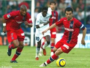Pedro Pauleta balle au pied (JB Quentin)