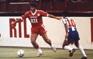 Safet Susic lors d'une des deux confrontations face à Porto (archives MK)