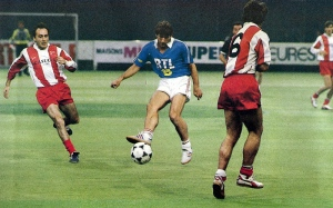 Safet Susic face à ses compatriotes de l'Etoile Rouge de Belgrade