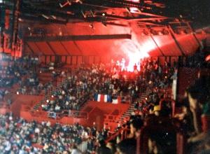 Les supporters du Kop de Boulogne présents à Bercy
