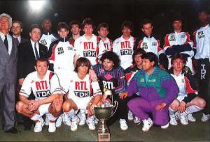 Le PSG remporte son 2nd Tournoi de Bercy après celui de 1987