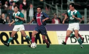 Roméo Calenda, pour une de ses très rare apparition en équipe première