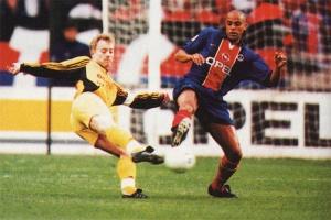 Alain Goma au contre face à Pouget