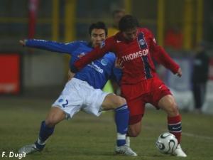 Cristian Rodriguez à la lutte (F. Dugit)