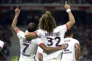 La joie de Lucas et de David Luiz (S. Mantey)