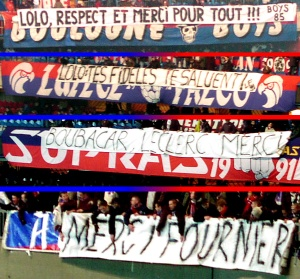 Messages de soutien des supporters à Laurent Fournier, limogé par la direction