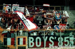 Les fans parisiens présents à Brescia